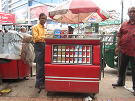 Collecting packs in India