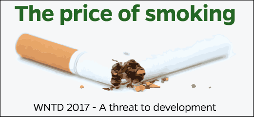 The price of smoking. World No Tobacco Day 2017