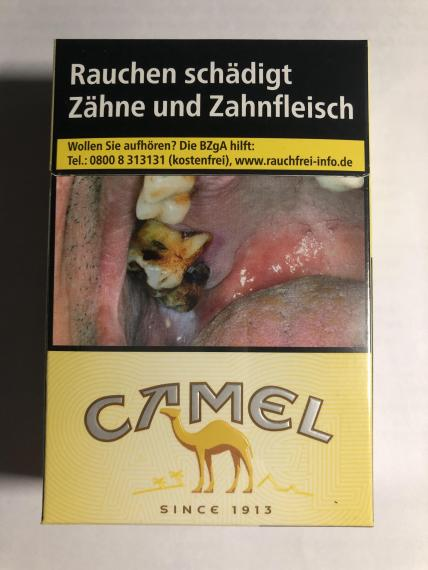 Camel Germany 13628 Tpackss Tobacco Pack Surveillance System